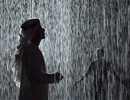 Rain Room @ Sharjah
