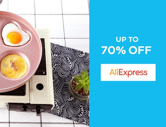 Up to 70% off Ali Express @ Dubai
