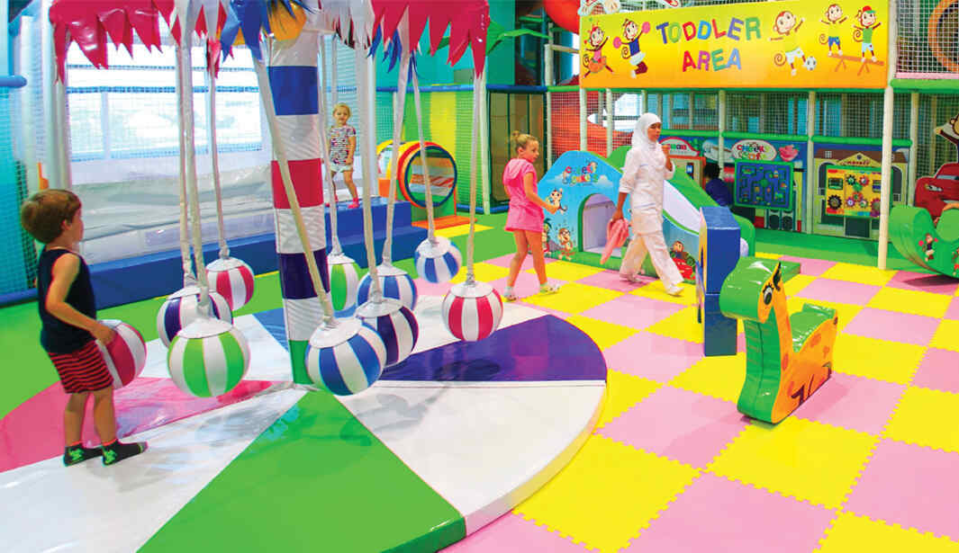 2hrs Play for AED65 @ Cheeky Monkeys @ Ras Al Khaimah
