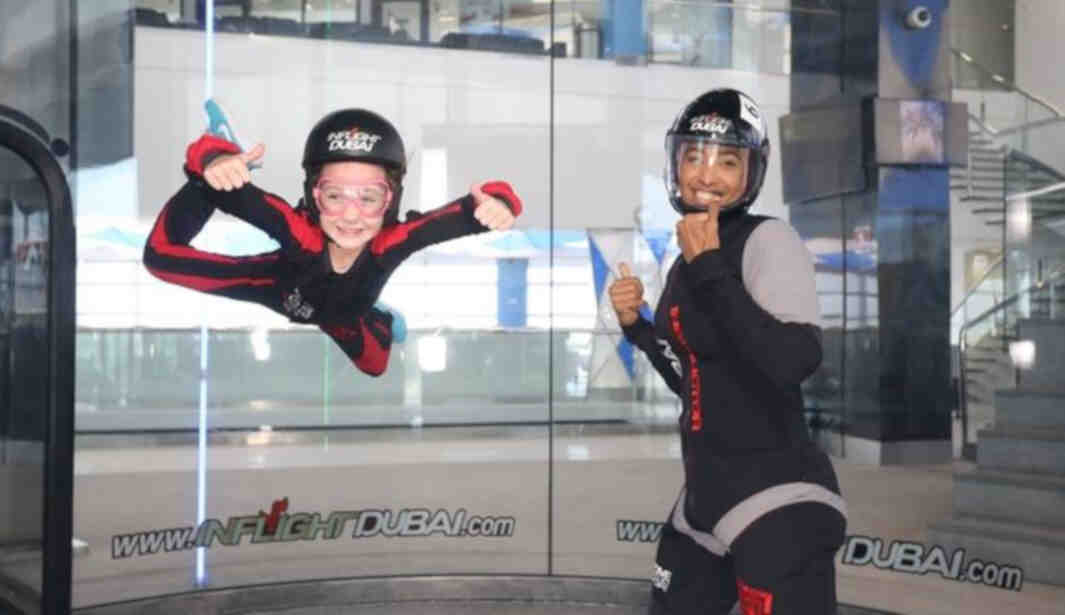 Indoor Skydiving For Less @ Dubai