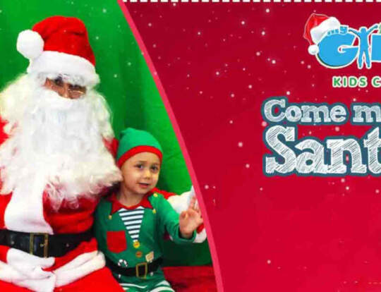Meet Santa @ My First Gym @ Dubai