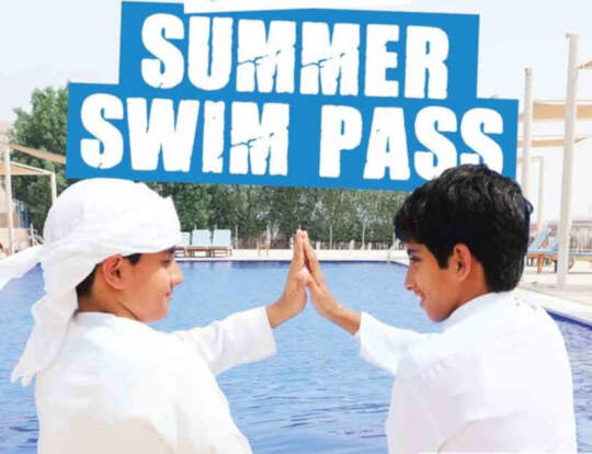 Summer Swim Pass @ Wadi Adventure @ Al Ain