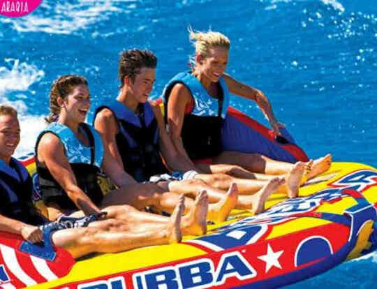 Inflatable Tows & Banana Boating by Liquid Edge Arabia @ Dubai