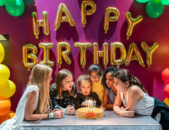 Reel Junior Birthdays @ Dubai