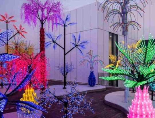 Botanical Light Garden Exhibition @ Dubai