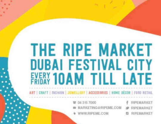 The Ripe Market @ Dubai Festival City Mall @ Dubai