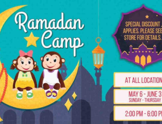 Ramadan Camp @ Cheeky Monkeys @ Ras Al Khaimah