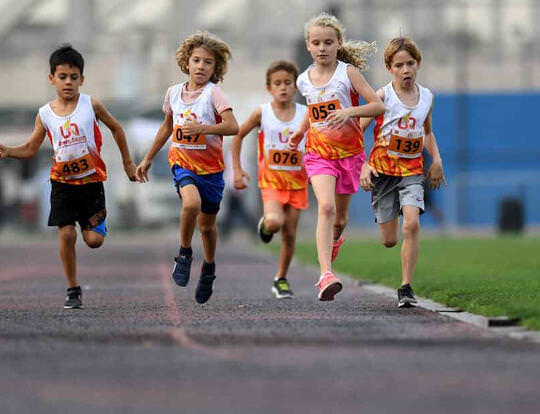 Youth-Sprints by Ultimate Athletics @ Abu Dhabi