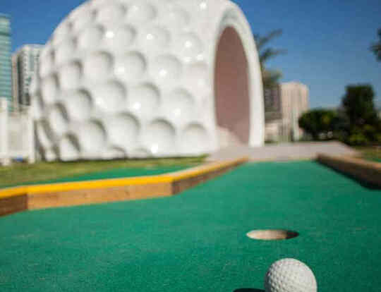 Mini Golf at Al Majaz Waterfront @ Dubai