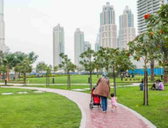 Bay Avenue Park @ Dubai