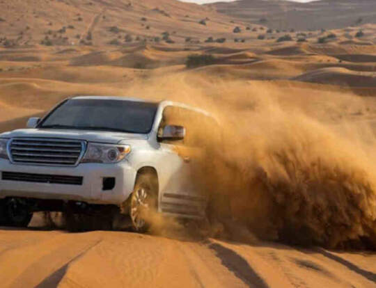 Morning Desert Safari @ Dubai