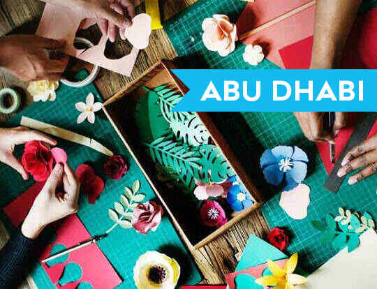 Drop In Art Studio @ Abu Dhabi
