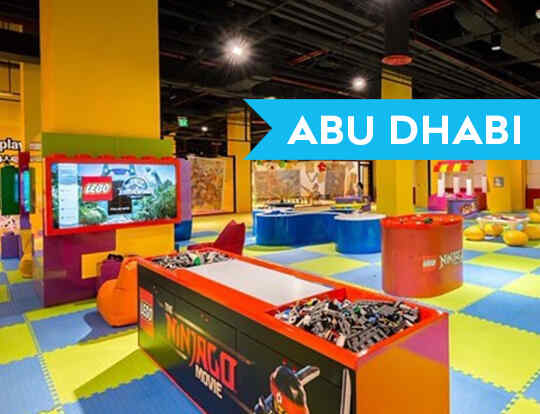Pop in and Play @ Abu Dhabi