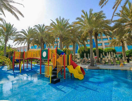 Day Pass + Kids Club @ Abu Dhabi