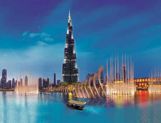 The Dubai Fountain @ Dubai