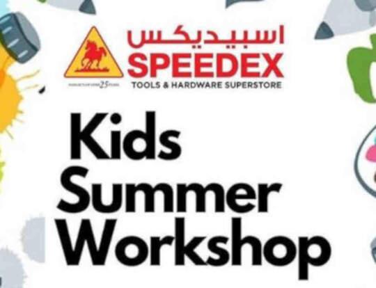 Kids Summer Workshops with Speedex   Dubai   Kidzapp