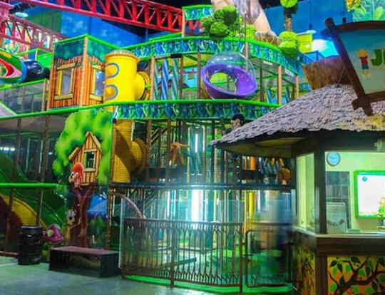 Soft Play Area at Adventureland @ Sharjah