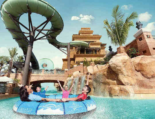 Aquaventure Waterpark @ Dubai