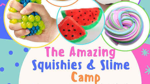 25% Off The Amazing Squishies & Slime Camp @ Dubai