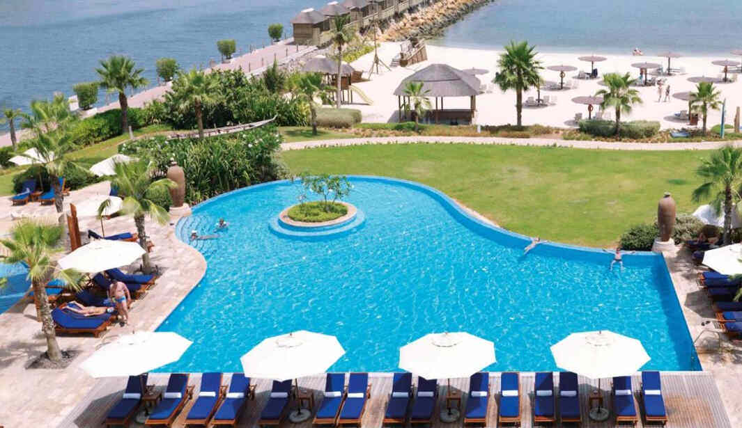 Beach Access @Radisson Blu Resort Bay Club @ Sharjah