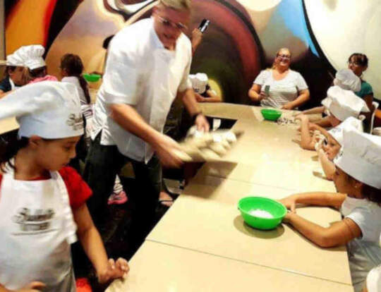 Kids Baking @ Bakers Kitchen @ Dubai