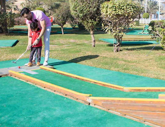 Mini Golf @ Sharjah