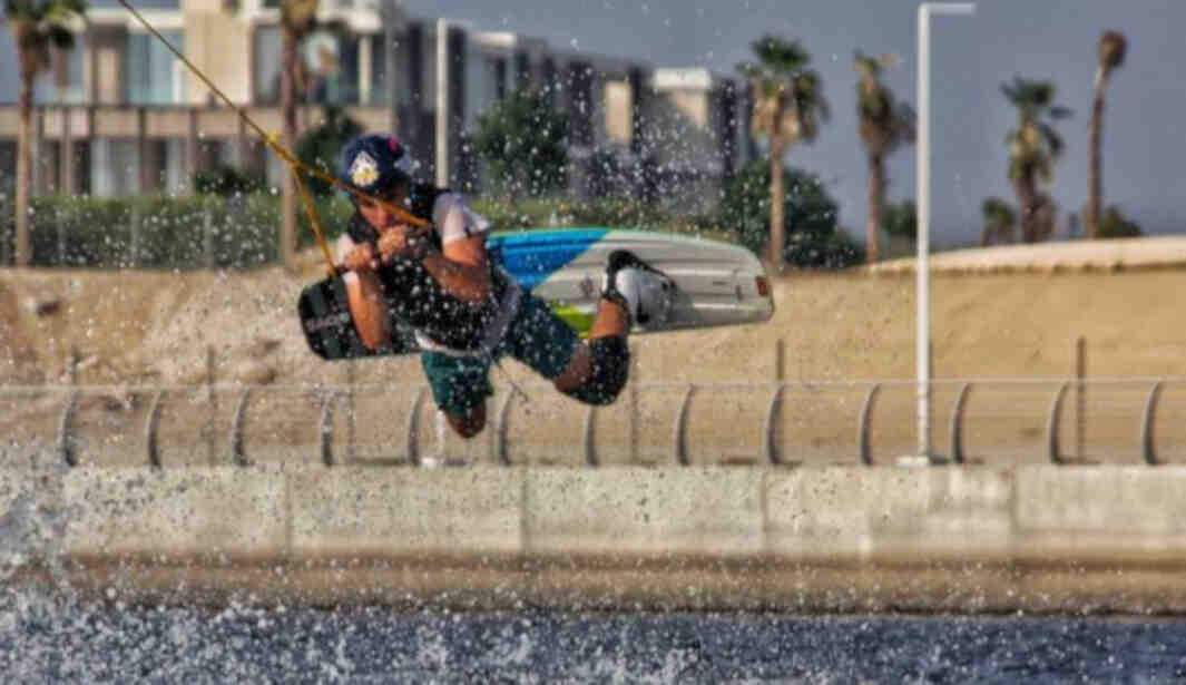 Cable Wakeboarding @ Quest for Adventure @ Ajman