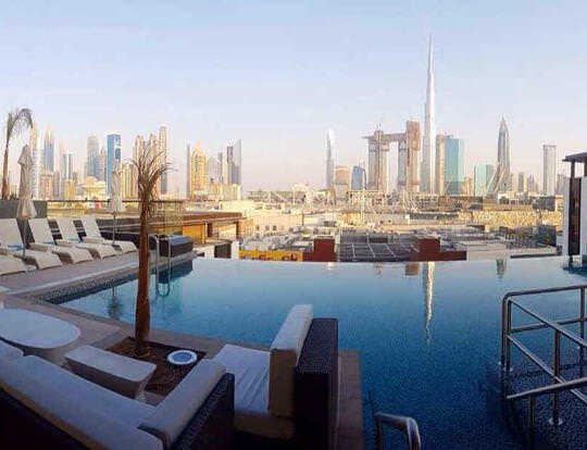Pool Day In the City @ Dubai