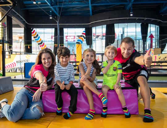 Up to 20% off Winter Holiday Camp at BOUNCE @ Dubai
