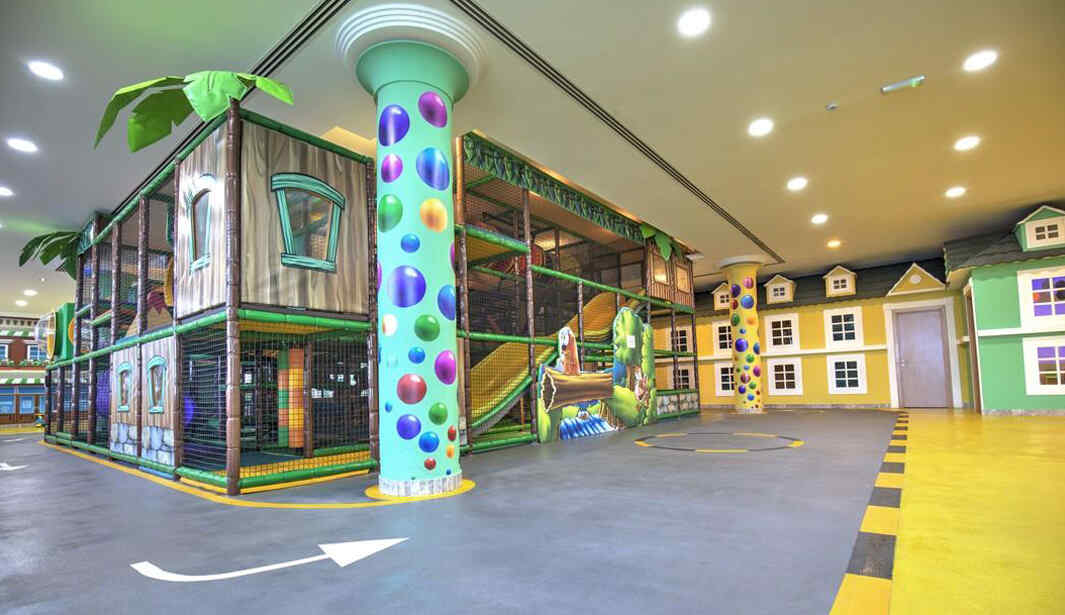 AED 35 for 2hrs Play @ Kids HQ @ Dubai