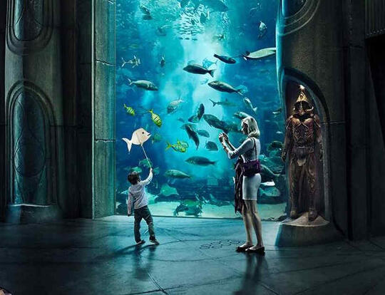 2 for 1 @ Lost Chambers Aquarium @ Dubai