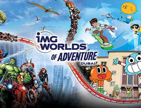 IMG Worlds of Adventures @ Dubai