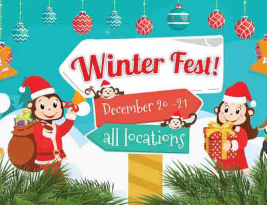 Winter Fest @ Cheeky Monkeys @ Ras Al Khaimah