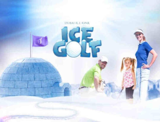 Ice Golf: Mini Golf On Ice @ Dubai