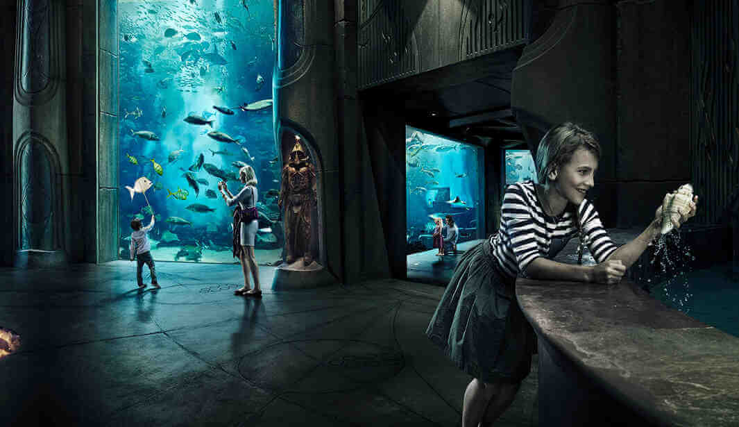 The Lost Chambers Aquarium @ Dubai