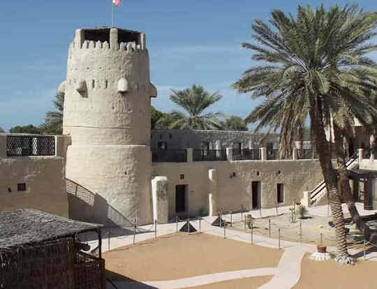 Umm Al Quwain Fort and Museum @ Umm Al Quwain