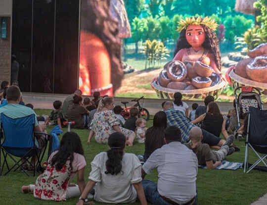 Movies in the Garden @ Abu Dhabi