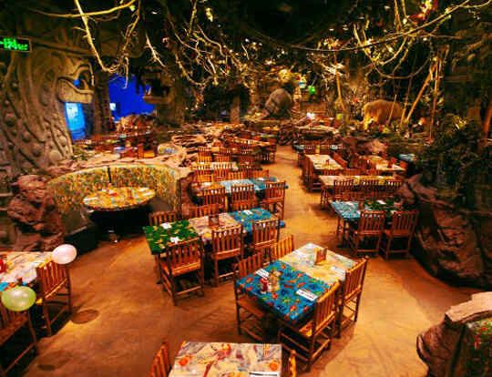 Rainforest Cafe @ Dubai