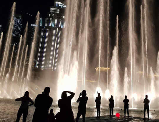 Dubai Fountain Boardwalk @ Dubai